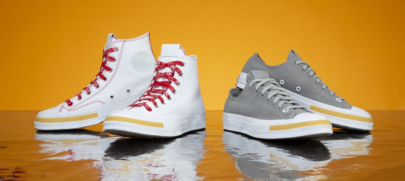 Clot x Converse Chuck 70 Ox 'Paloma' and Hi 'White' Release Date ...